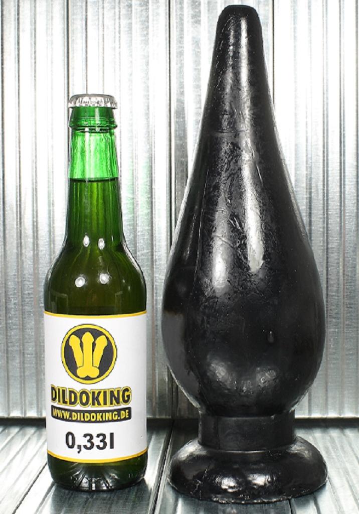 28 x 9,5 cm XL Buttplug Boum IV black kaufen und