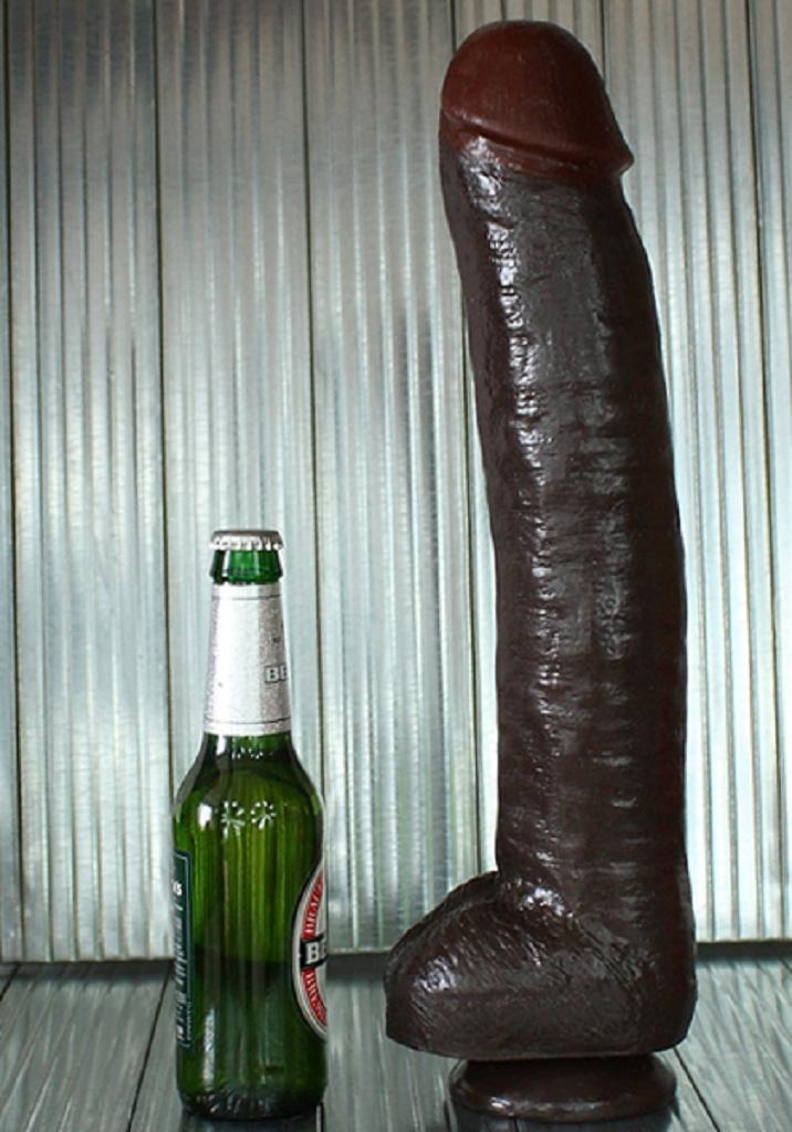42,5 x 7,5 cm Dildo Jamaica XXL Hammer kaufen und