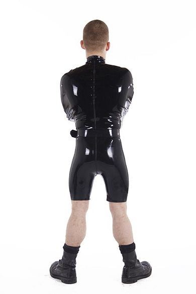 Rubber Bondage Suit 100